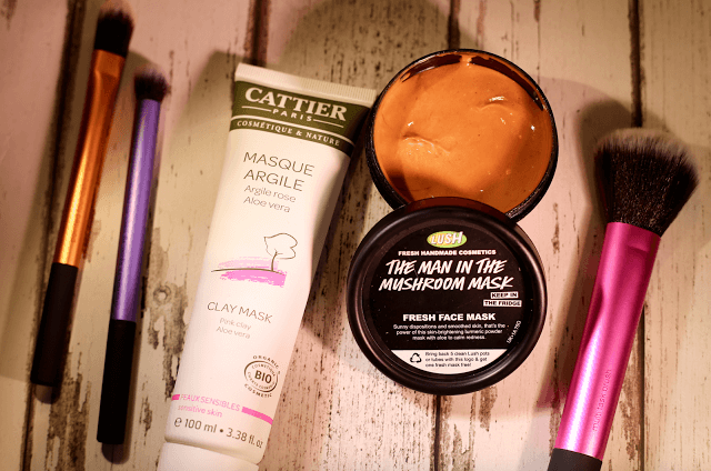 cattier and lush face mask